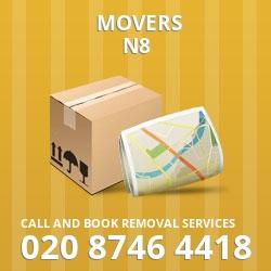 Harringay home movers N8