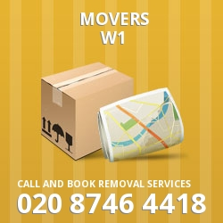 Westminster home movers W1