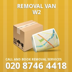 Bayswater moving vans W2