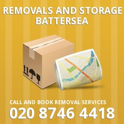 Battersea moving and storage SW11