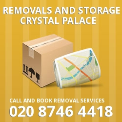 Crystal Palace moving and storage SE19