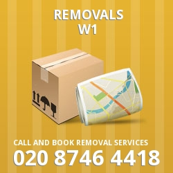 Westminster house relocation W1