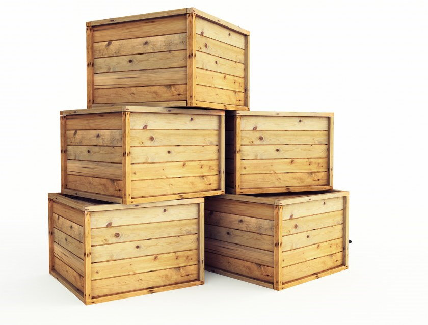 moving crates
