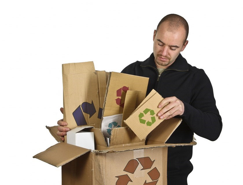 recycle packing materials