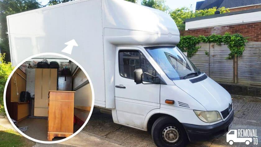 Harold Wood moving vans RM3