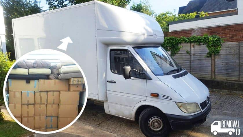Surrey Quays moving vans SE16