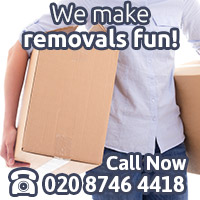 Removals in Harringay are Fun with Us