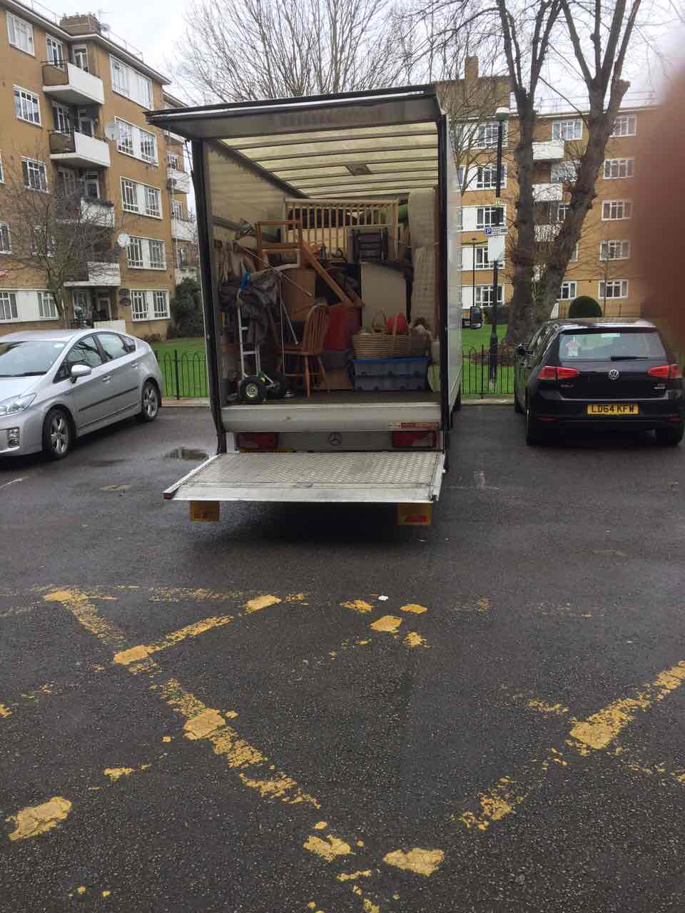 SW5 man with van South Kensington