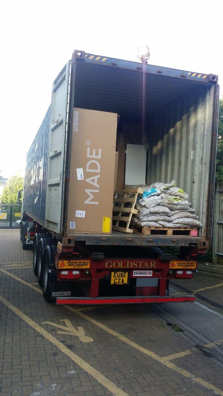 South Kensington moving vans SW5