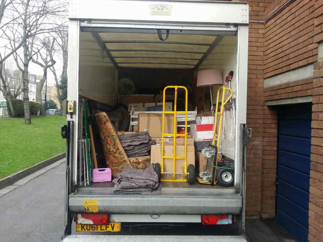 Ealing moving vans W5