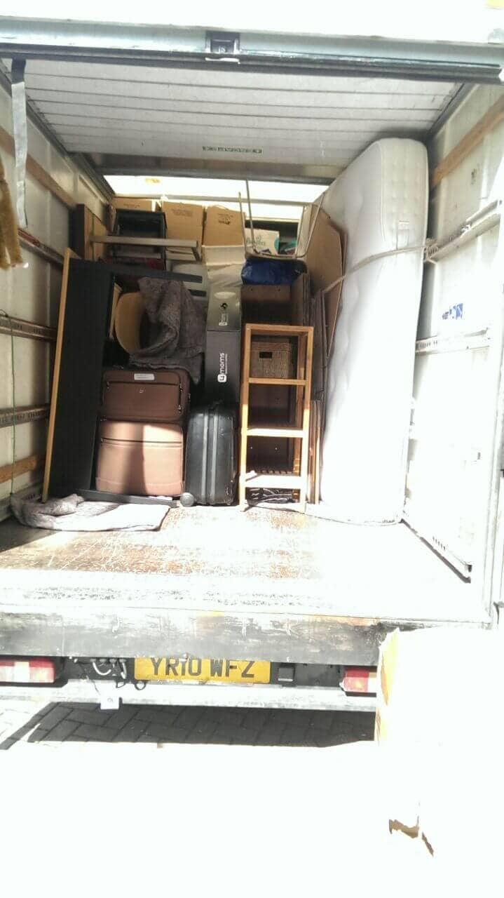 Addington van with man CR0