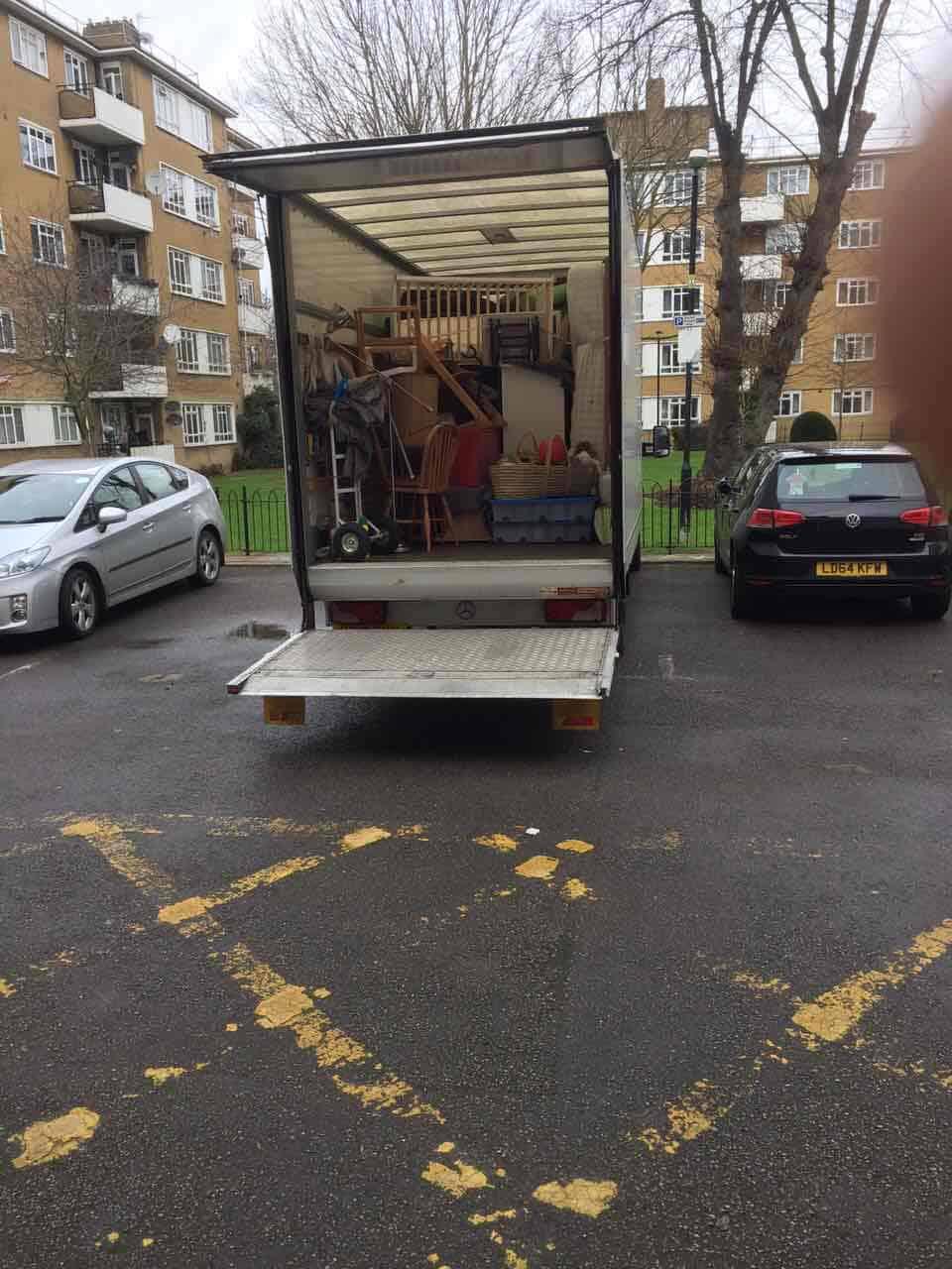 Croydon van with man CR9
