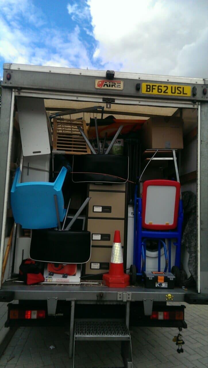 EN4 moving truck