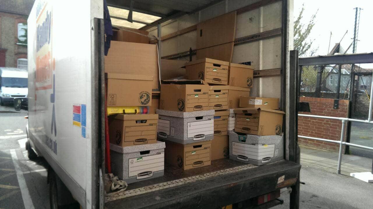 N12 storage unit Finchley