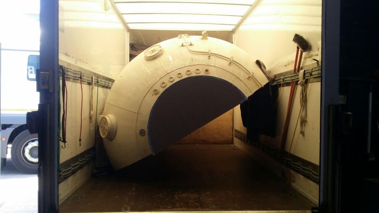 N2 storage unit Hampstead Gdn Suburb