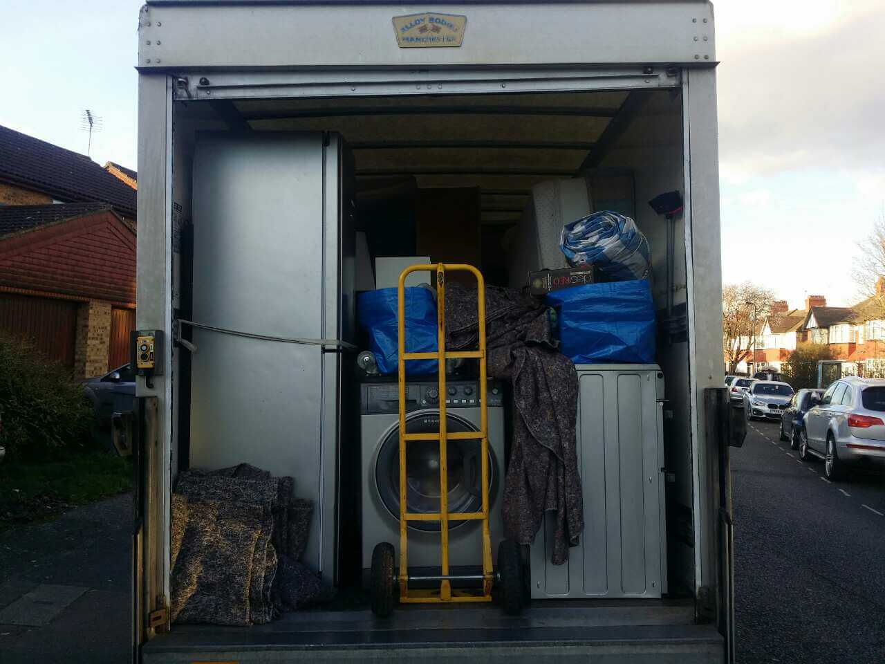van removals Lisson Grove