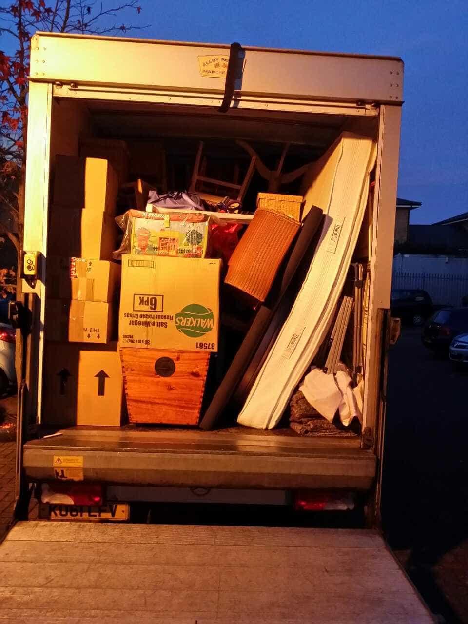 Queensbury van with man HA3