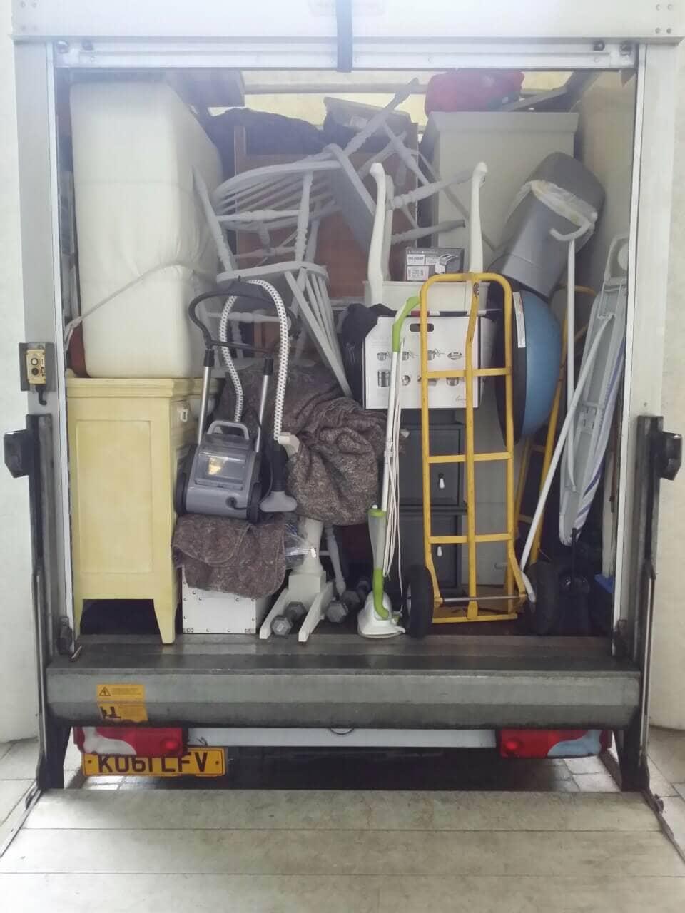 Southall van with man UB1
