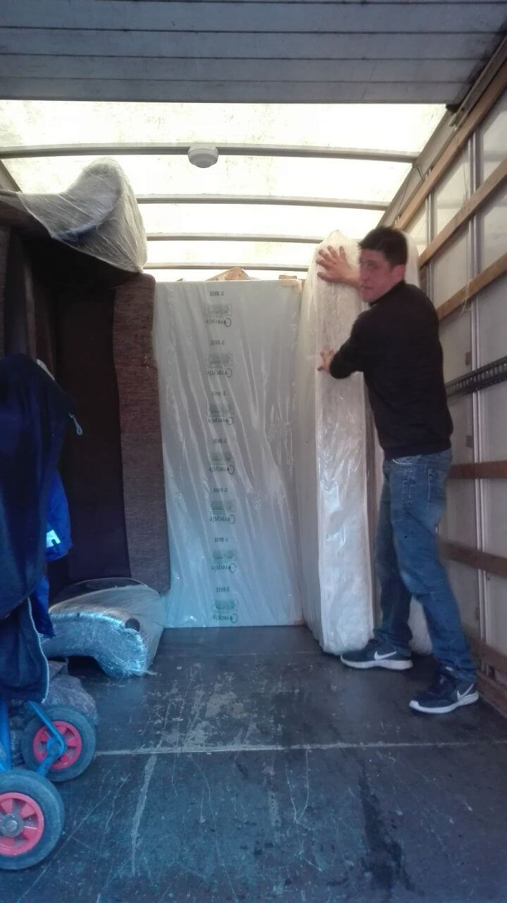 van removals Stroud Green
