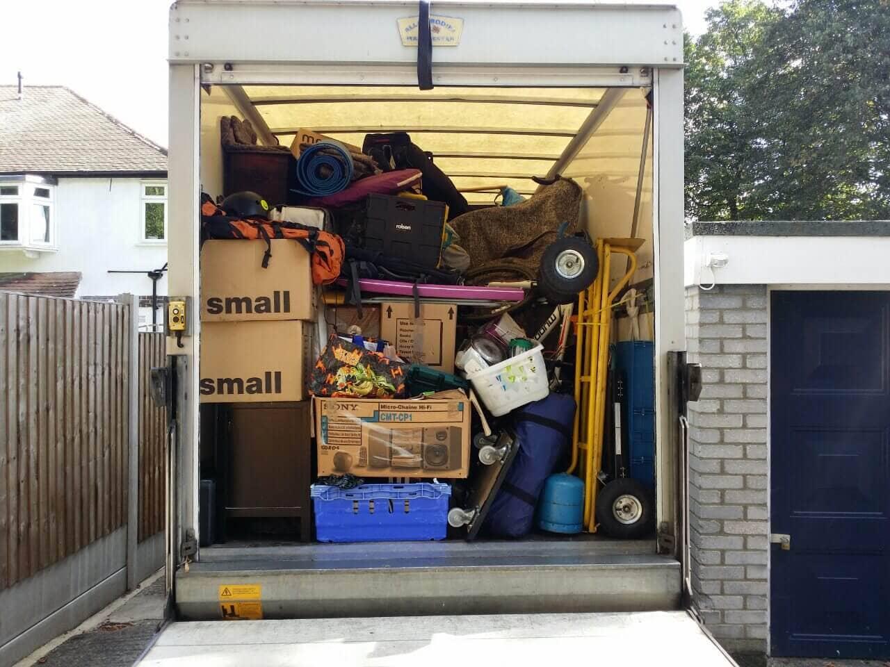 van removals West Green